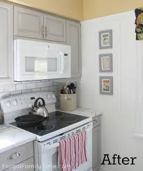 Kitchen Cabinets For Microwave Hack Your Kitchen For An Over The Range Microwave Kitchen Update