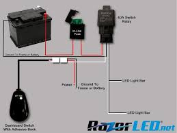 Installing Light Bar Led Lightbar Installation Polaris General 1000 Forum How To Wire