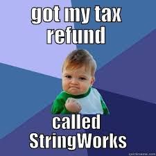 Tax Refund Meme - ideal tax return meme tax refund called stringworks meme funny