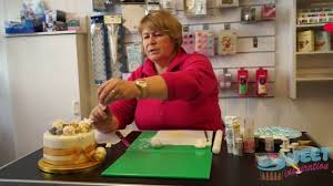 Christmas Cake Decorations Jane Asher by Easy Christmas Cake Decorations Youtube