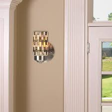 Mosaic Wall Sconce Qspl Kalmia 1 Light Mosaic Wall Sconce Reviews Wayfair