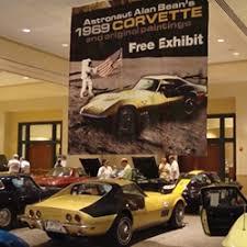 corvette chevy expo historical astronaut corvette displayed at the corvette chevy expo