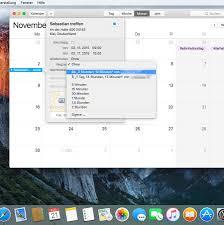 Computerm El Os X El Capitan Wegzeit Im Kalender Berechnen Mac Life
