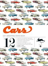cars wrapping paper pepin press volume 13 cars wrapping paper book from masquewrapping