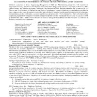 Best Engineering Resume Samples by Good Resume Sample Of Engineer Project Manager Position Expozzer