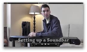 setting up a home theater connecting up a sound bar to enhance your flat panel tv u0027s audio