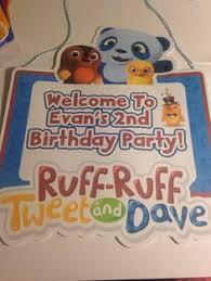 ruff ruff tweet and dave decorations balloon weights baby u0027s