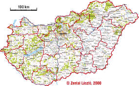 Hungary Map Europe by Hungary Map