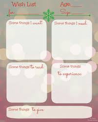 christmas wish list maker de jong house the december list free christmas wishlist