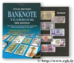 banknote yearbook banknote yearbook 2002 scotland ireland channel