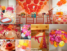 tangerine u0026 fuschia u0026 lemon oh my wedding ideas pinterest