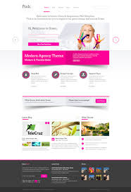 20 best website psd templates images on pinterest psd templates