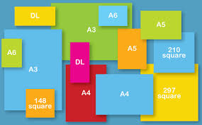 sizes options brochure formats sizes how to stand out from the crowd
