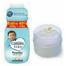 Bedak Bayi cussons baby prickly heat protection baby powder bedak bayi 350 gr