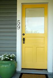Front Door Colors For Gray House Best 25 Colored Front Doors Ideas On Pinterest Front Door Paint