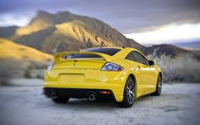 mitsubishi yellow mitsubishi eclipse gt wallpapers mitsubishi eclipse gt stock photos