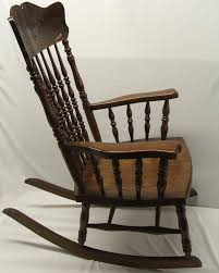 Oak Rocking Chairs 1900 10 Pressed Back American Oak Rocking Chair Must Be Picked Up