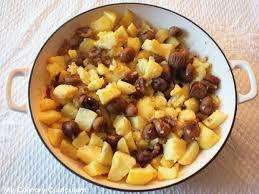 cuisiner marrons pommes de terre aux marrons sirop d érable et mélange du trappeur