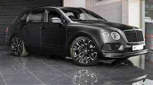 bentley mulsanne matte black bentley bentayga tuned by kahn design le mans edition takes no
