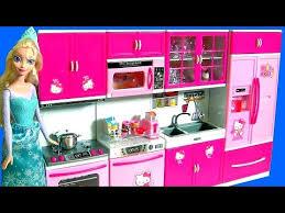 hello deluxe kitchen cooking with elsa disney frozen