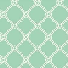 fretwork trellis wallpaper mint green white double roll ballard