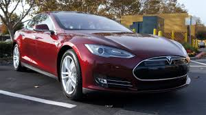 tesla outside tested test drives the tesla model s electric car youtube