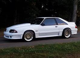 White Mustang With Black Wheels Foxbody Wheel Picture Thread Page 205 Ford Mustang Forums