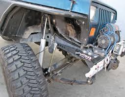jeep sway bar currie enterprises jeep yj front antirock sway bar kit