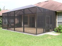 Screened In Patio Ideas Patio Screen Enclosures Kits Home Outdoor Decoration
