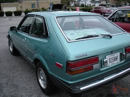 1981 honda accord lx hatchback japanese classics pinterest
