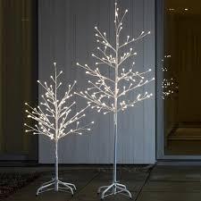 konstsmide 3377 100 led 96cm white berry twig tree