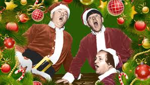we wish you a merry the three stooges