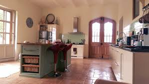 island in the kitchen downstairs le manoir du vigneron