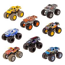toy monster jam trucks for sale wheels monster jam 1 64 scale vehicle styles may vary