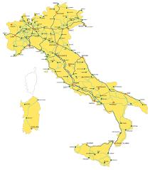italy map italy rail map italiarail