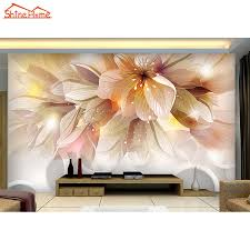 aliexpress com buy large flower blossom floral 3d room modern aliexpress com buy large flower blossom floral 3d room modern wallpaper for walls 3d livingroom wall paper mural rolls household papel de parede from