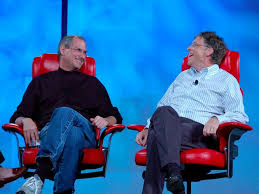 Even Bill Would Check Out - the love hate relationship between bill gates and steve jobs