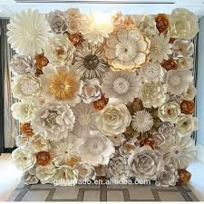 wedding backdrop of flowers tornado crafts customized size artificial paper flower wall