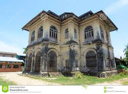 colonial architecture myanmar myeik colonial architecture editorial stock image