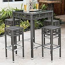 Wicker Bistro Table And Chairs Patio Bistro Sets Bistro Tables Chairs Bed Bath Beyond
