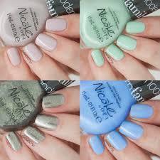 elaine nails nicole by opi modern family xtras haul