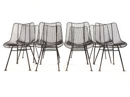 Outdoor Dining Chair by Wire Mesh Dining Chairs By Woodard At 1stdibs