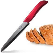 vos professional ceramic bread knife 8 inch vos ceramic knife