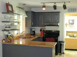 Black Metal Kitchen Cabinets Painting Metal Kitchen Cabinets Faced