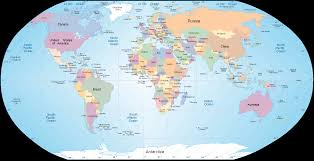 Geography Map Map Of The World World Political Map World Geography Map