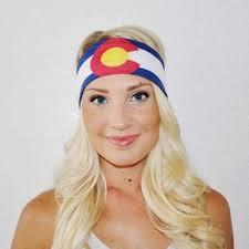 Flag Clothing Colorado Flag Headband Colorado Threads Clothing