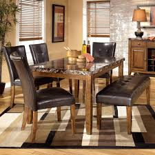 ashley dining table chairs mitventures co ashley