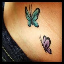 Small Butterfly Tattoos On - 11 best tiny butterfly tattoos images on butterfly
