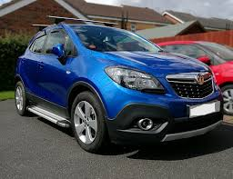 opel chile to fit 13 vauxhall opel mokka aluminium abs side steps running