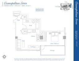 Floor Plan Websites Sapphire Tower Studio B U2013 Cosmopolitan